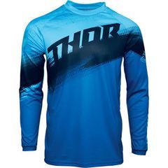 Джерси для мотокросса Thor Vapor синий  размер M