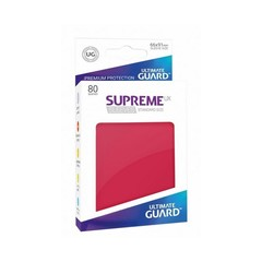 Supreme Sleeves Standard Size Red (UX)