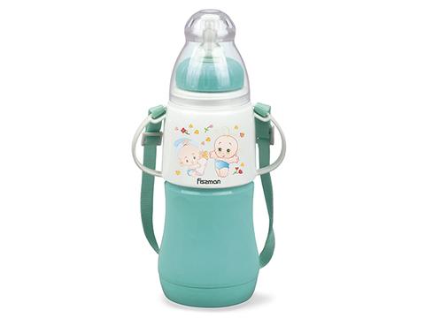 7958 FISSMAN Термобутылочка для кормления с соской 230 мл,  купить