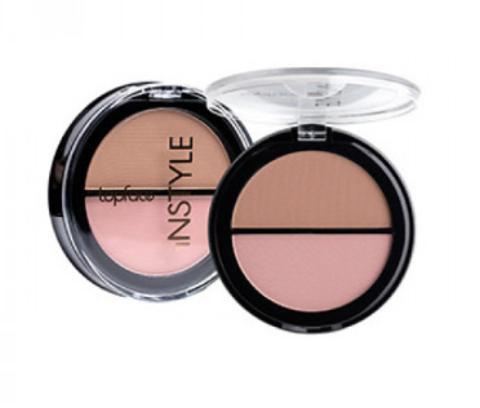 Topface Instyle Румяна Twin Blush On  №005 холодно-розовый, песочный - PT353