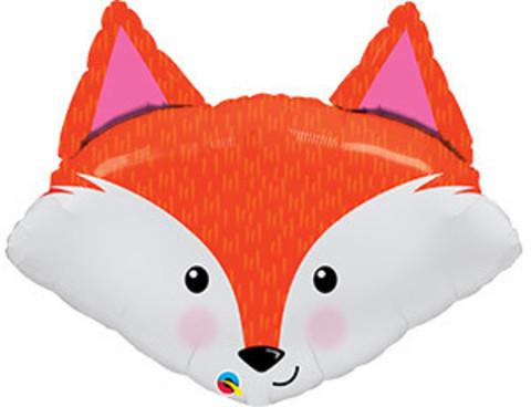 Фольгированный шар Лисичка голова