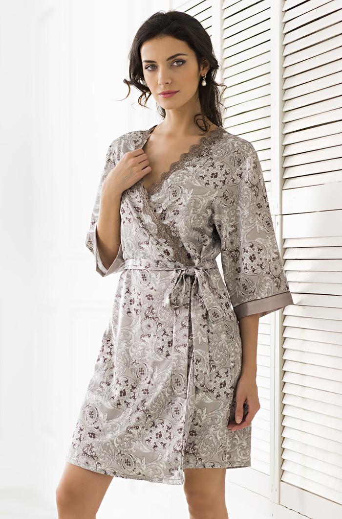 Шелковые халаты Халат женский MIA Amore  Stella Стелла  9293 9293.jpg