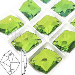 Стразы купить интернет оптом пришивные Cosmic Peridot зеленые