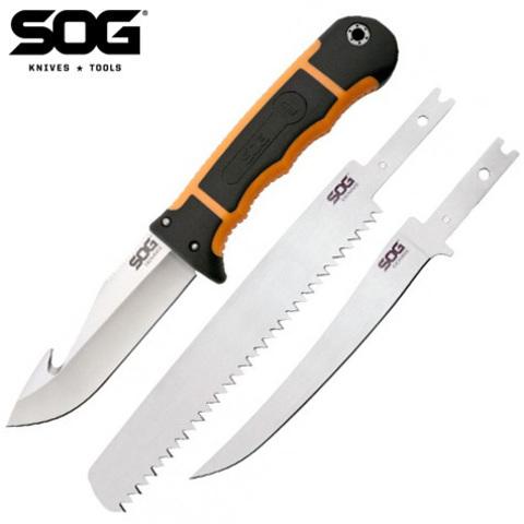 Нож со сменными лезвиями SOG модель HT-201 Exchange