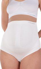 EUROMAMA. Корсет для беременных бесшовный, 4 косточки белый вид 2
