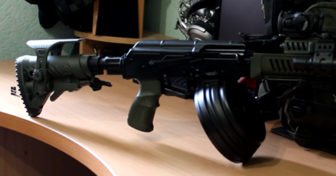 Пистолетная рукоятка FAB-Defense для АК47/74/Сайга (AG-47 Green)