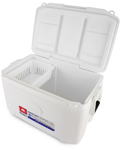 Изотермический пластиковый контейнер Igloo Quantum 55 Marine Ultra white