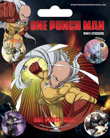 Набор стикеров One Punch Man