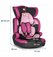 Автокресло Lionelo LO-Levi One Candy Pink