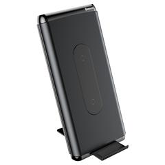 Беспроводное зарядное Baseus Wireless charger power bank 10000mAh(Dual coil /Typec /PD+QC3.0 input/output 15W ) black