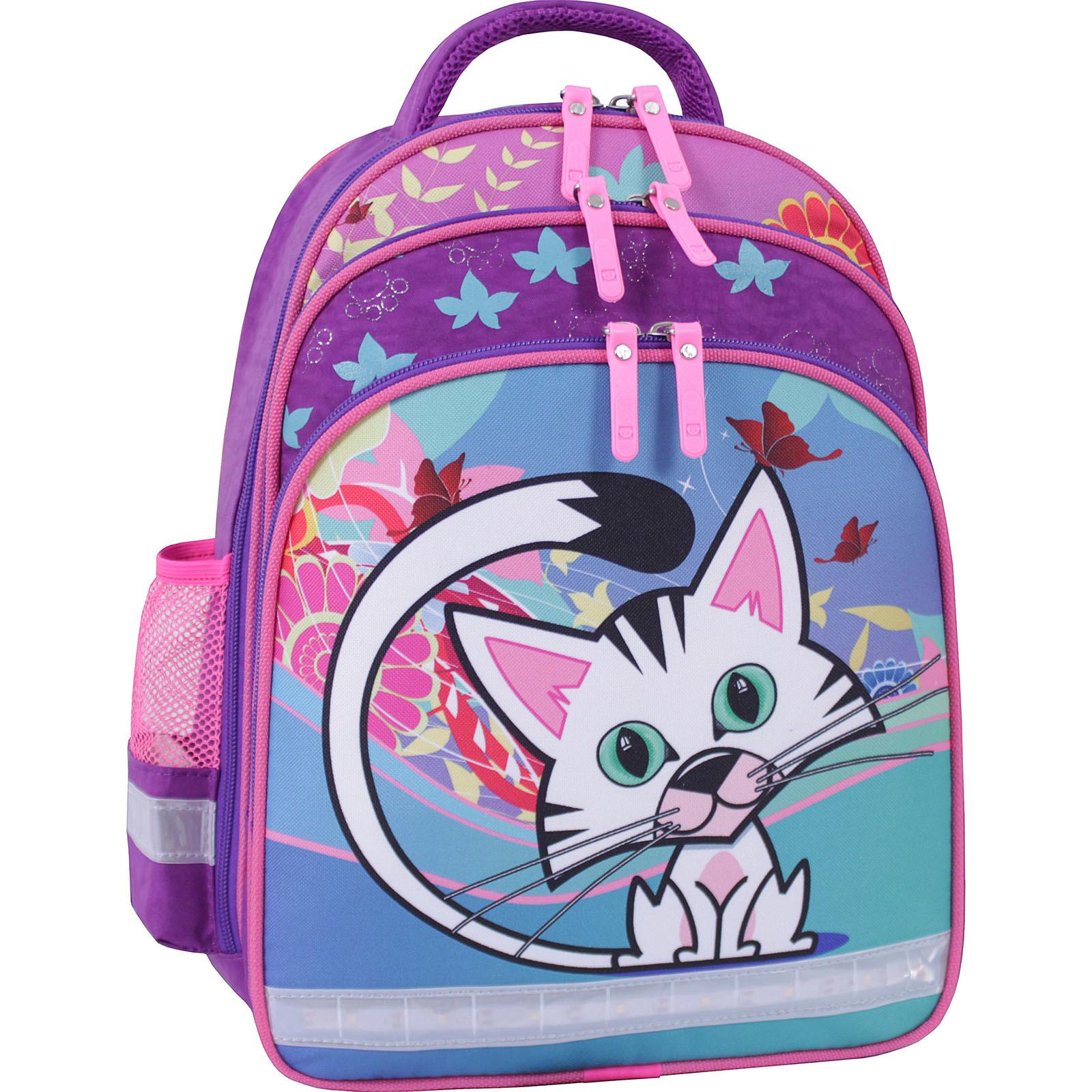 Рюкзак школьный Bagland Mouse 339 фиолетовый 502 (0051370) фото 1