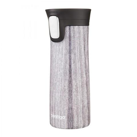 Термокружка Contigo Pinnacle Couture (0,42 литра), белое дерево