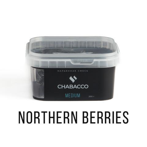 Кальянная смесь Chabacco - Northern  berries (Северные ягоды) 200 г