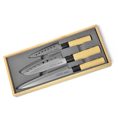 Набор ножей 3 пр. KATANA Fissman 2680