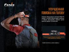 Фонарь налобный FENIX HL18R-T 500lm аккумуляторный