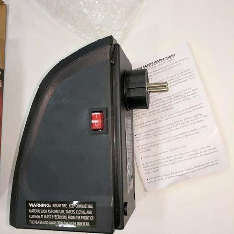Портативный электрический обогреватель Handy Heater (400 Вт) (с пультом)