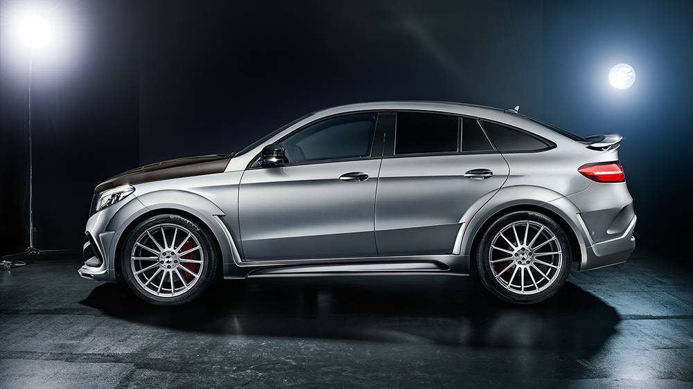 Обвес Hamann для Mercedes GLE 63 S