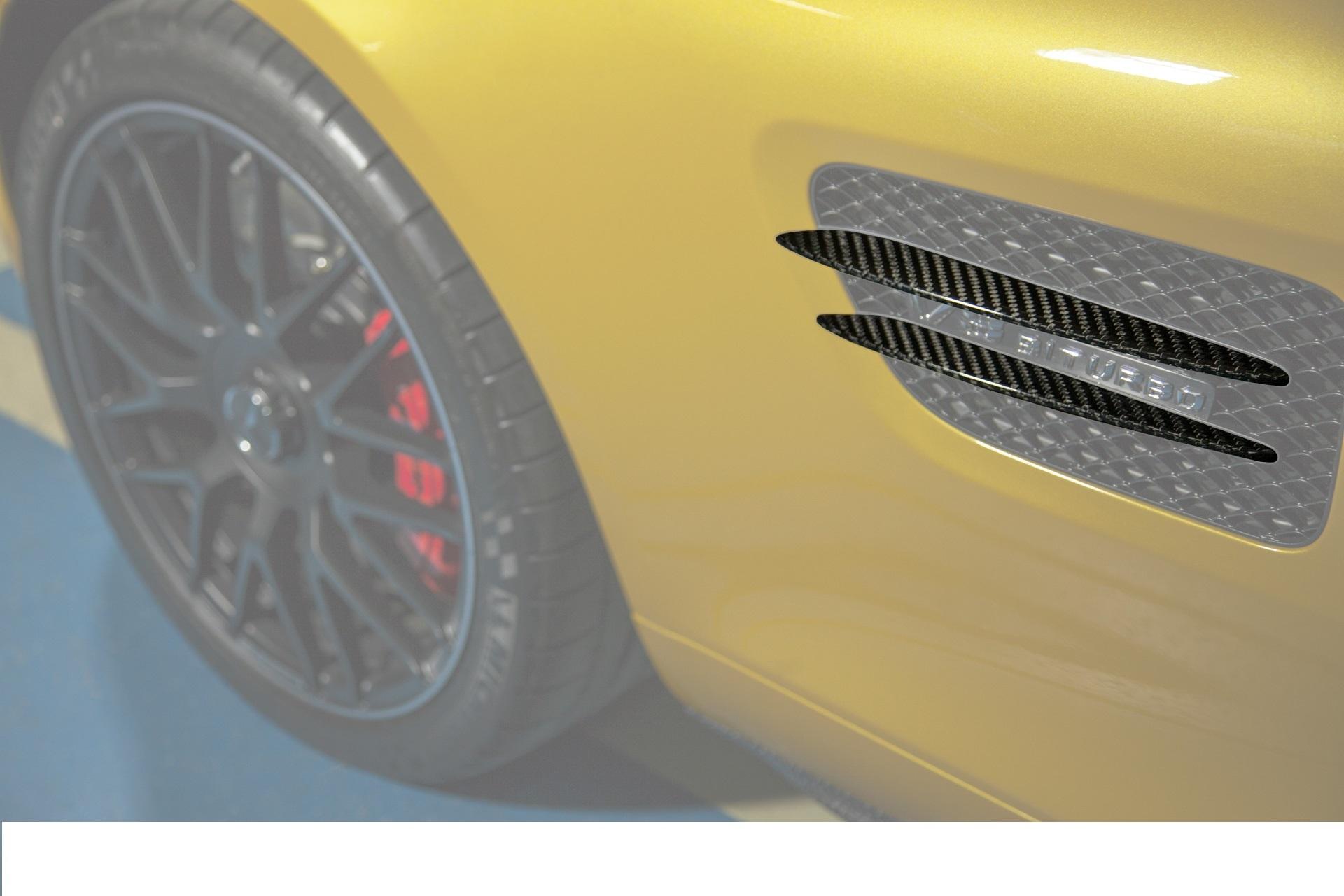 Карбоновые плавники в воздухозаборники Edition 1 Style для Mercedes GT-class C190