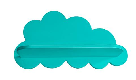 Полка облако большая голубая
