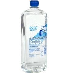 Вода дистилированная 1.5л