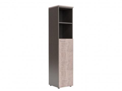 XHC 42.6 Шкаф колонка с глухой средней дверью и топом (425х410х1930)