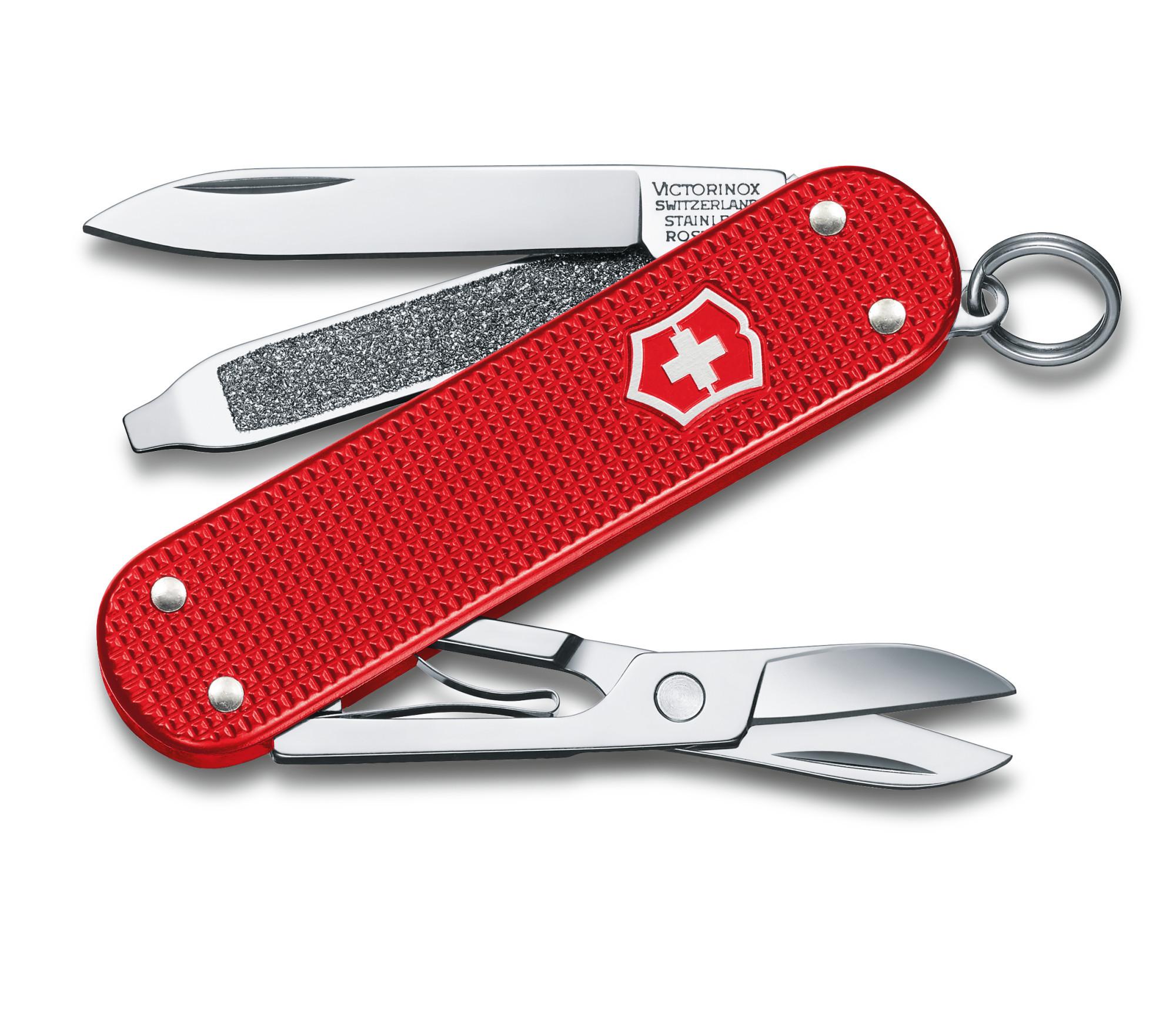 Складной нож-брелок Victorinox Classic Alox Limited Edition 2018 (0.6221.L18) лимитированное издание, подарочная упаковка