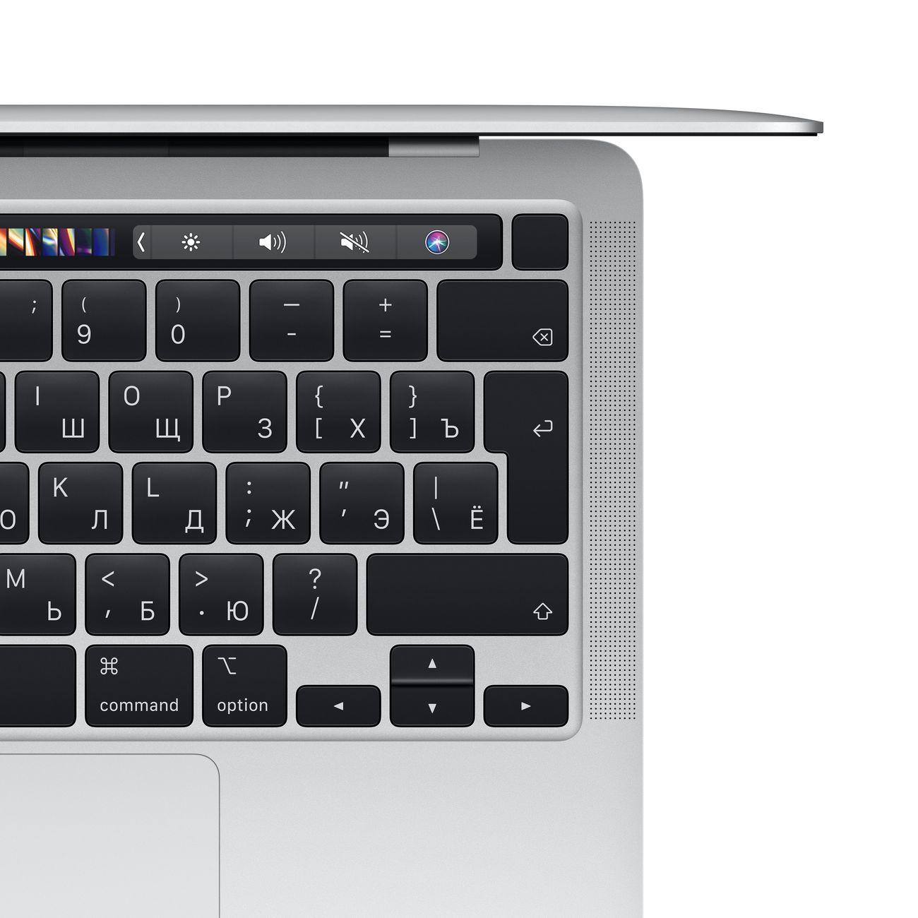 Ноутбук Apple MacBook Pro 13 M1/8/256 Silver (MYDA2RU/A)