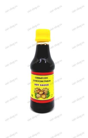Вьетнамский соевый соус со вкусом грибов, Tam Duc, 225 мл.