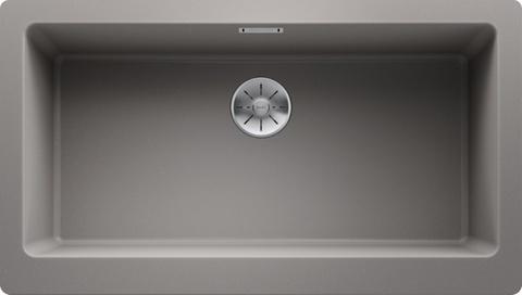 Кухонная мойка Blanco Vintera XL 9-UF, алюметаллик