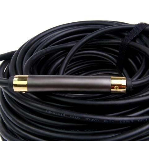 Кабель HDMI 40 метров Активный с усилителем - Кабель  провод  шнур HDMI-HDMI 40М