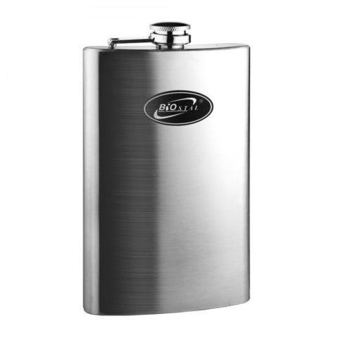 Фляга Biostal (0,21 литра), стальная