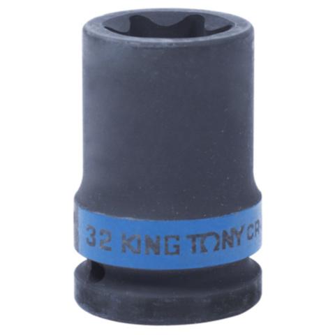 KING TONY (657532M) Головка торцевая ударная TORX Е-стандарт 3/4