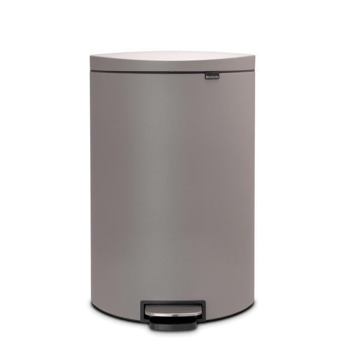 Мусорный бак FlatBack+ (40 л), Минерально-серый, арт. 119620 - фото 1
