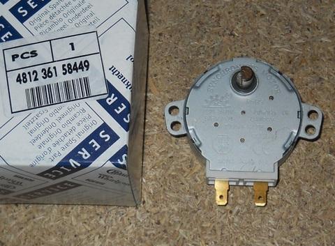 Мотор вращения тарелки СВЧ Вирпул и др. 5W 481236158449