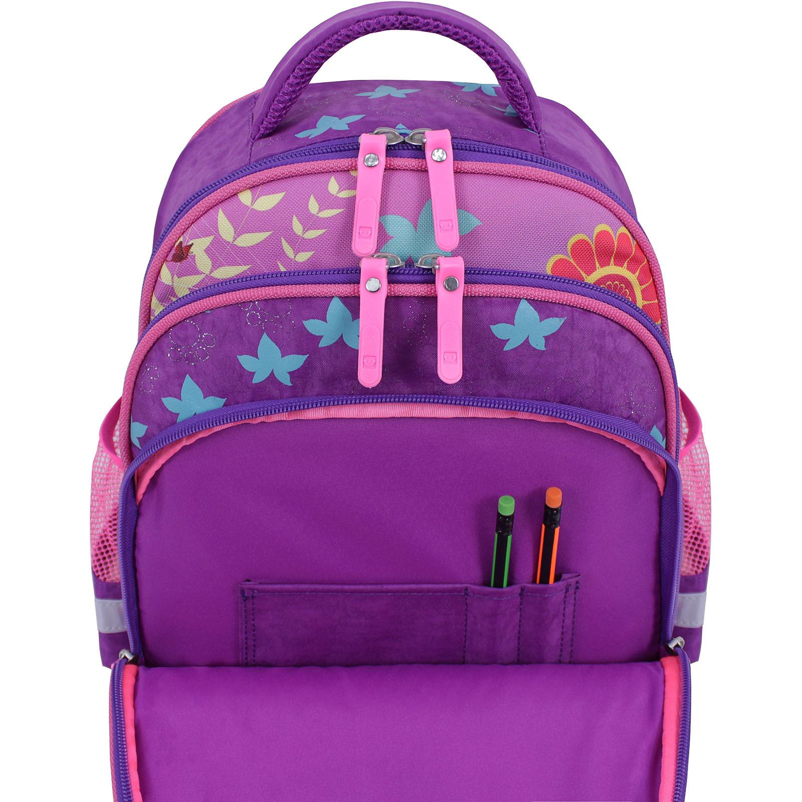 Рюкзак школьный Bagland Mouse 339 фиолетовый 502 (0051370) фото 5