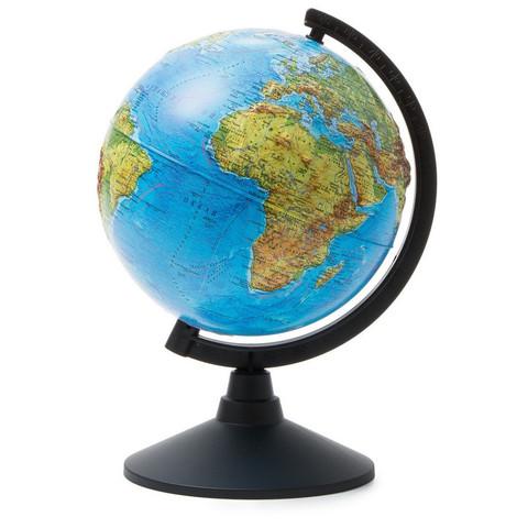 Глобус физический рельефный 210 мм
