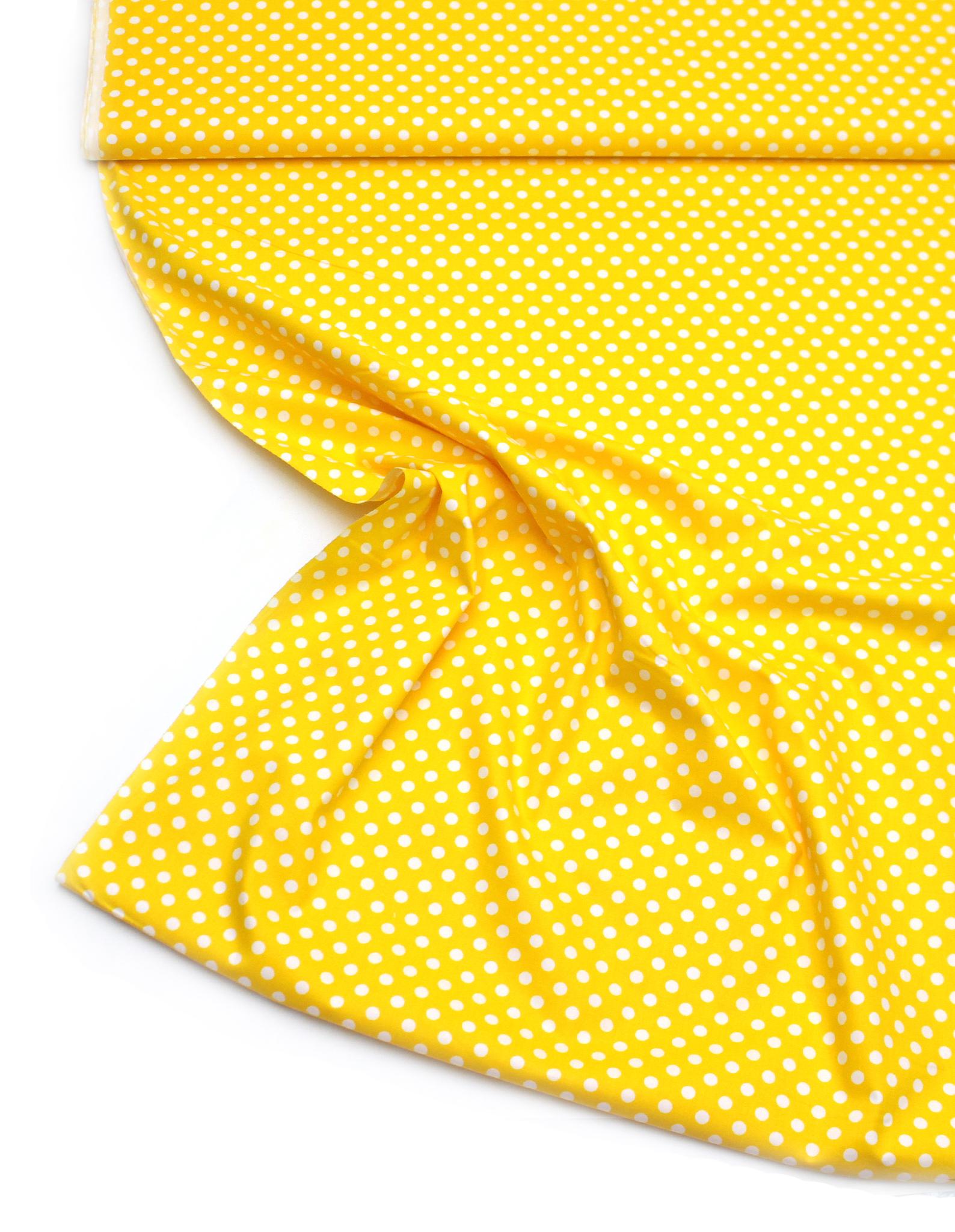 Горошек на желтом