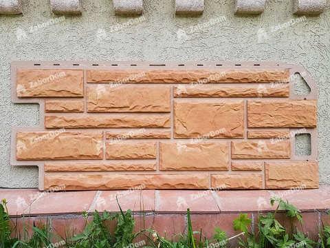 Фасадная панель Альта Профиль Камень Бежевый 1140х480 мм