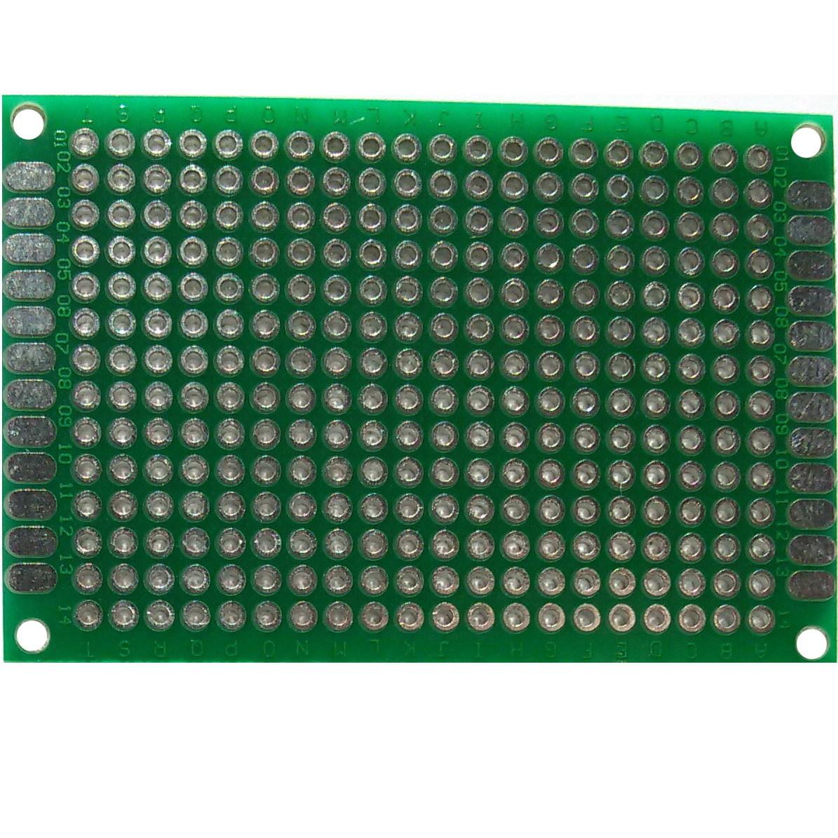 PCB макетная плата 4х6 см