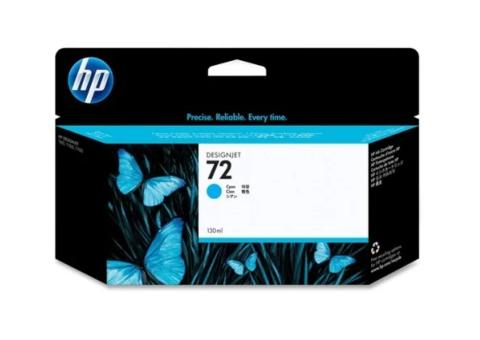 Оригинальный картридж струйный HP C9371A (№72A), голубой