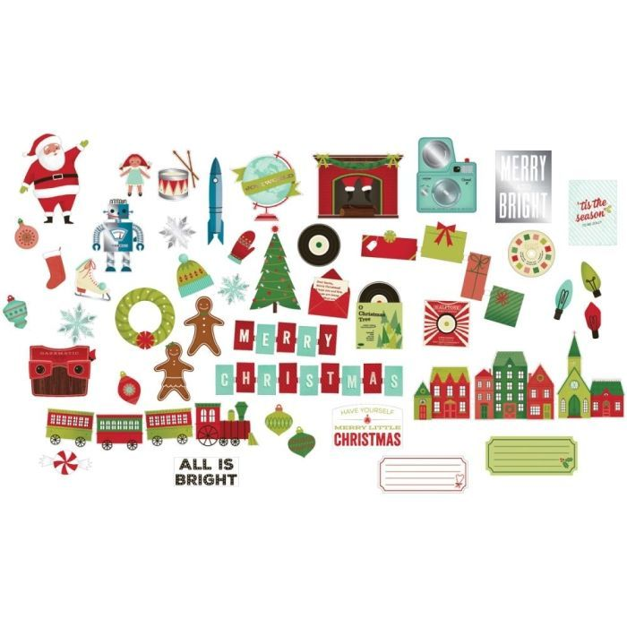 Высечки Christmas Magic
