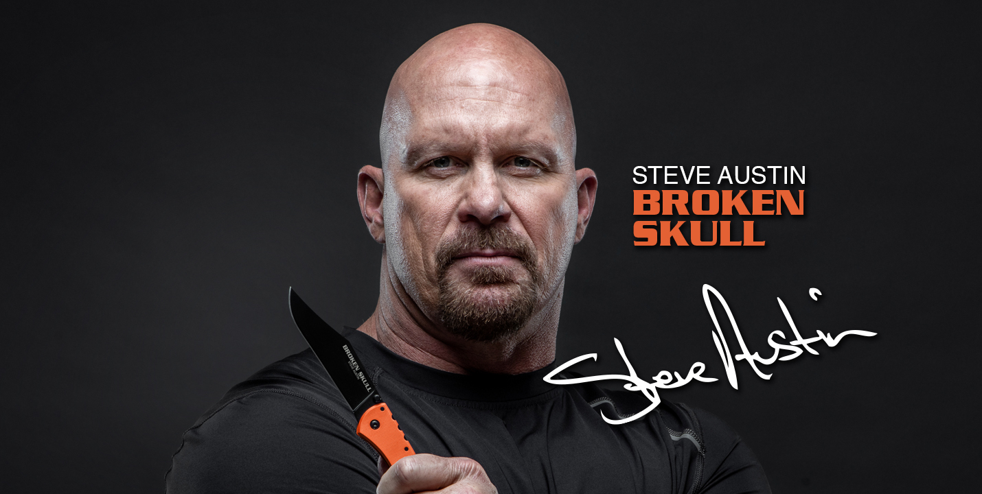Нож Cold Steel Broken Skull Blue IV - фотография
