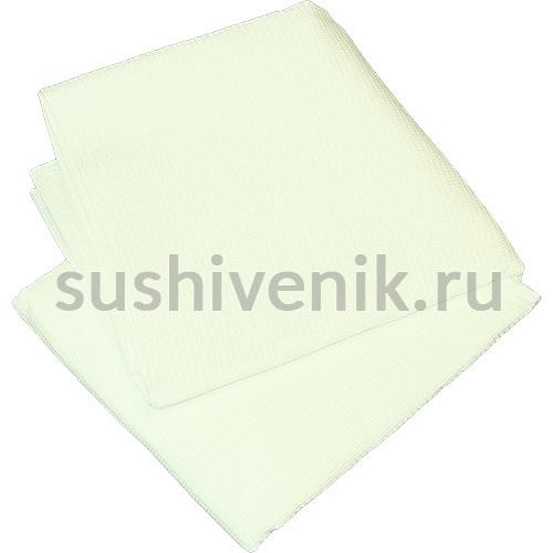 Простыня для бани вафельная (мелкая клетка)