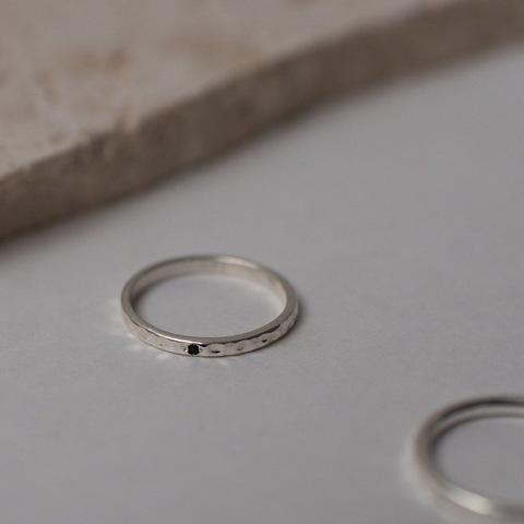 Кольцо GAMMA - Чёрная шпинель