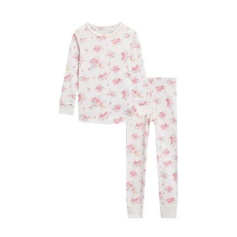 Пижама для девочки Malwee Розовые цветочки