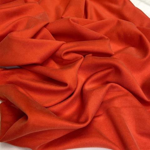 Ткань трикотаж  джерси  коралловый 3198