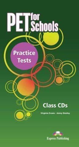 PET for Schools Practice Tests. Class Audio CDs (set of 5). Аудио CD (5 шт.)