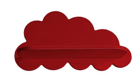 Полка облако красная