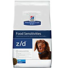 Корм для собак мелких пород, Hill`s Prescription Diet Canine z/d Mini, с пищевой аллергией