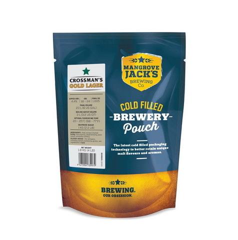 Пивной набор Mangrove jack's - Crossman's golden lager 1,8 кг до 23 л